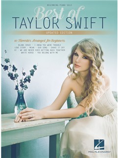 Beginning Piano Series: Best Of Taylor Swift – Updated Edition Books | Piano