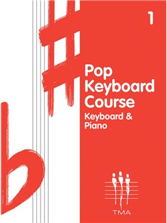 Tritone Pop Keyboard Course - Book One Books | Keyboard