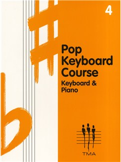 Tritone Pop Keyboard Course - Book Four Books | Keyboard
