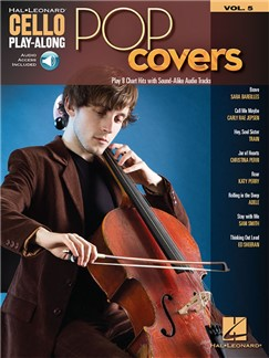 Cello Play-Along Volume 5: Pop Covers (Book/Online Audio) Books and Digital Audio | Cello