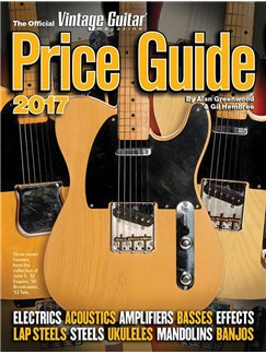 The Official Vintage Guitar Magazine Price Guide 2017 Books | Guitar, Electric Guitar