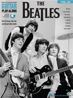 Guitar Play-Along Volume 25: The Beatles (Book/Online Audio) Books and Digital Audio | Guitar, Guitar Tab