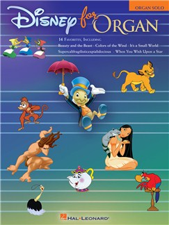 Disney For Organ Books | Organ