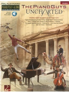 Piano Play-Along Volume 8: The Piano Guys - Uncharted (Book/Online Audio) Books and Digital Audio | Piano