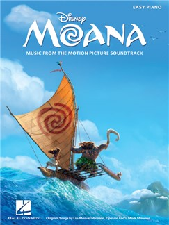 Moana: Music From The Motion Picture Soundtrack (Easy Piano) Books | Easy Piano, Piano