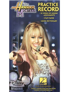 Hannah Montana: Practice Record Book Books | All Instruments