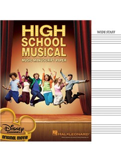 High School Musical Manuscript Paper Books |