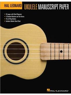 Hal Leonard Ukulele Manuscript Paper Books | Ukulele