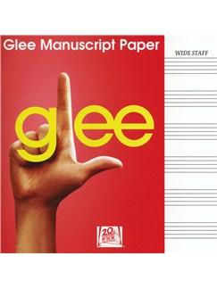 Glee Manuscript Paper - Wide Staff Books |