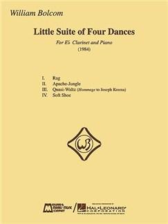 William Bolcom - Little Suite of Four Dances (Clarinet / Piano) Books | Clarinet, Piano Accompaniment