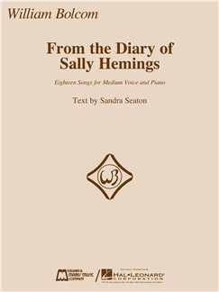From The Diary Of Sally Hemings Books | Medium Voice, Piano Accompaniment