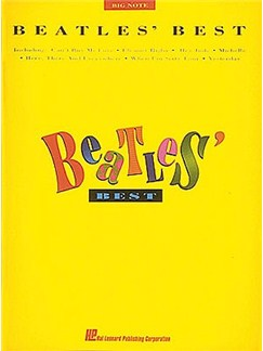Beatles Best (Big Note Piano) Books | Piano (Big Notes)