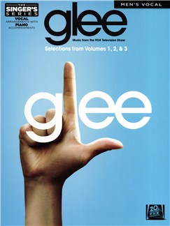 Glee: Selections From Volumes 1-3 - Men's Vocal Books | Voice, Piano Accompaniment