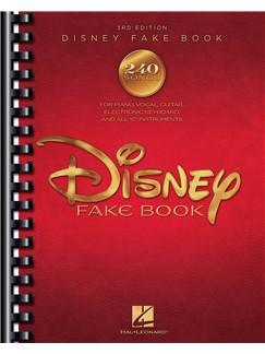 The Disney Fake Book - 3rd Edition Books | Melody Line, Lyrics & Chords, C Instruments
