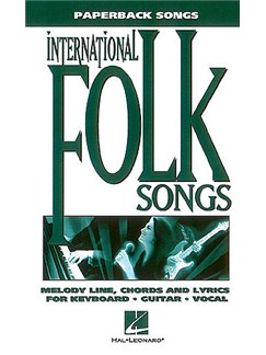 Paperback Songs: International Folksongs Books | Piano, Vocal & Guitar