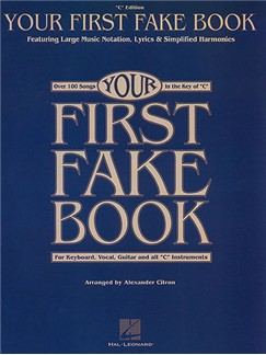 Your First Fake Book Books | Piano, Vocal & Guitar