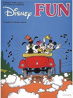 Disney Fun - 5 Finger Piano Solos Books   Piano