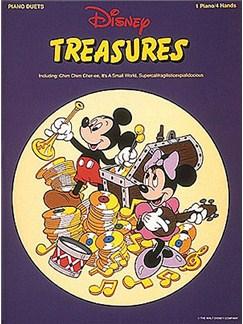Disney Treasures - Piano Duets Books   Piano Duet