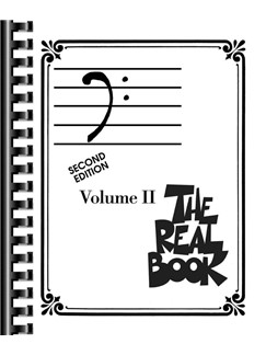 The Real Book: Volume II - Second Edition (Bass Clef Instruments) Books | Bass Clef Instruments