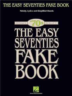 The Easy Seventies Fake Book Books |