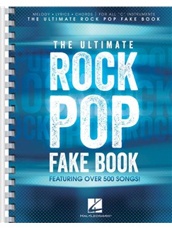 The Ultimate Rock Pop Fake Book Livre | Instruments À C