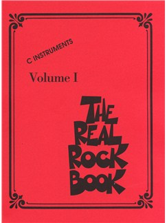 The Real Rock Book Books | C Instruments, Melody Line, Lyrics & Chords