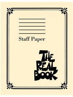 The Real Book: Staff Paper Books | All Instruments