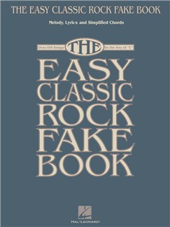 The Easy Classic Rock Fake Book Books | C Instruments