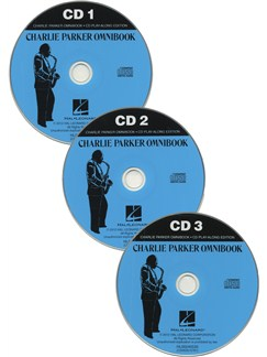 Charlie Parker Omnibook - Play-Along CDs CDs | C Instruments, B Flat Instruments, E Flat Instruments, Bass Clef Instruments