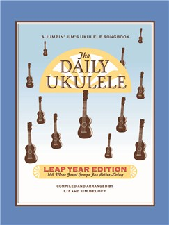 The Daily Ukulele: Leap Year Edition Books | Ukulele, Lyrics & Chords