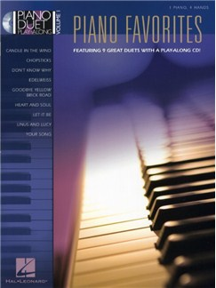 Piano Duet Play-Along Volume 1: Piano Favourites CD et Livre | Piano Duo
