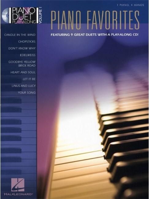 Piano Duet Play Along Volume 1 Piano Favourites Piano Duet Sheet