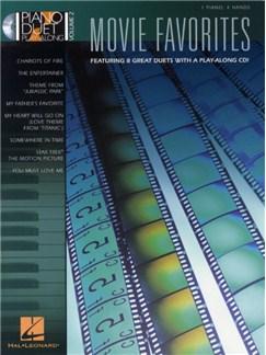 Piano Duet Play-Along Volume 2: Movie Favourites CD et Livre | Piano Duo