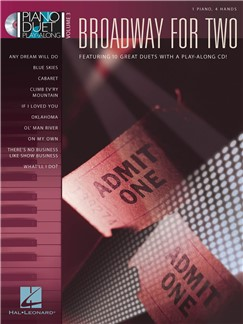 Piano Duet Play-Along Volume 3: Broadway For Two Books and CDs | Piano Duet, Piano