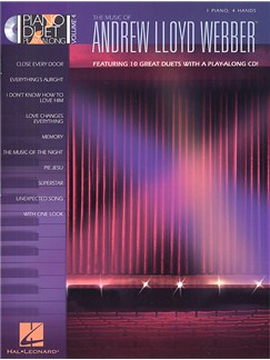 Piano Duet Play-Along Volume 4: The Music Of Andrew Lloyd Webber Books and CDs | Piano Duet