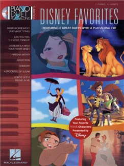 Piano Duet Play-Along Volume 5: Disney Favourites Audio Digitale et Livre | Piano Duo