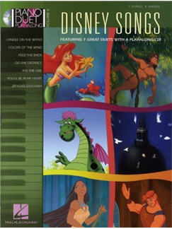 Piano Duet Play-Along Volume 6: Disney Songs Books and CDs | Piano Duet