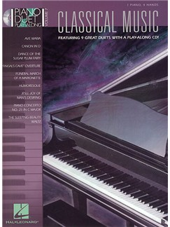 Piano Duet Play-Along Volume 7: Classical Music CD et Livre | Piano Duo