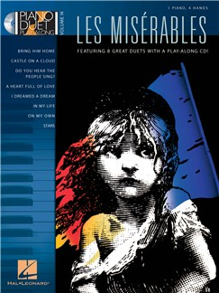 Piano Play-Along Volume 14: Les Misérables (Book/CD) Books and CDs | Piano Duet, Piano