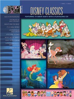 Piano Play-Along Volume 16: Disney Classics CD et Livre | Piano Duo