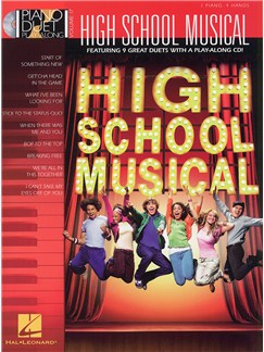 Piano Duet Play-Along Volume 17: High School Musical Books and CDs | Piano Duet