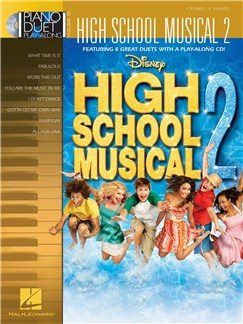 Piano Duet Play-Along Volume 18: High School Musical 2 Books and CDs | Piano Duet