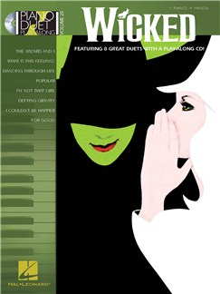 Piano Duet Play-Along Volume 20: Wicked CD y Libro | Piano Dúos