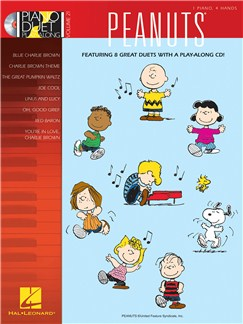 Piano Duet Play-Along Volume 21: Peanuts Books and CDs | Piano Duet