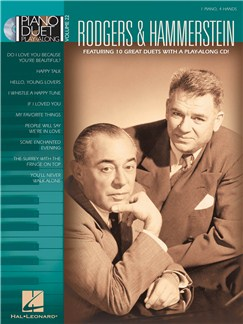 Piano Duet Play-Along Volume 22: Rodgers and Hammerstein Books and CDs | Piano Duet