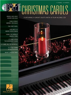 Piano Duet Play-Along Volume 24: Christmas Carols Books and CDs | Piano