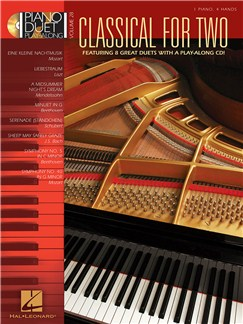 Piano Duet Play Along Volume 28: Classical For Two CD et Livre | Piano Duo