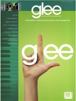 Glee: Piano Duet Play-Along Books and CDs | Piano Duet