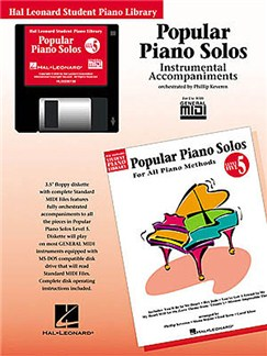 Hal Leonard Student Piano Library: Popular Piano Solos Level 5 (GM Disk) CD-Roms / DVD-Roms | Piano