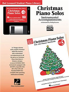 Hal Leonard Student Piano Library: Christmas Piano Solos Level 5 (GM Disk) CD-Roms / DVD-Roms | Piano